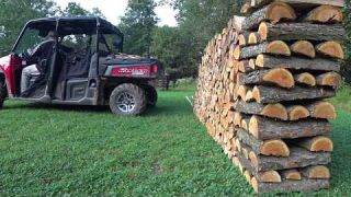 How To Stack Firewood Like A BOSS! Cords Of Wood For Sale